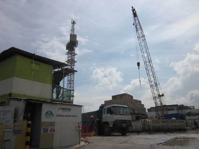 30 & 32 Tuas West Road being redeveloped.