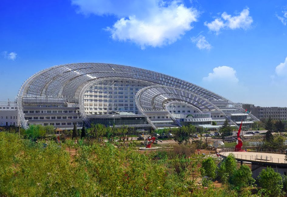 China's Solar Valley in Dezhou, Shandong
