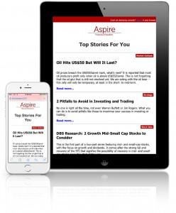 newsletter ipad iphone