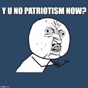 y u no patriotism