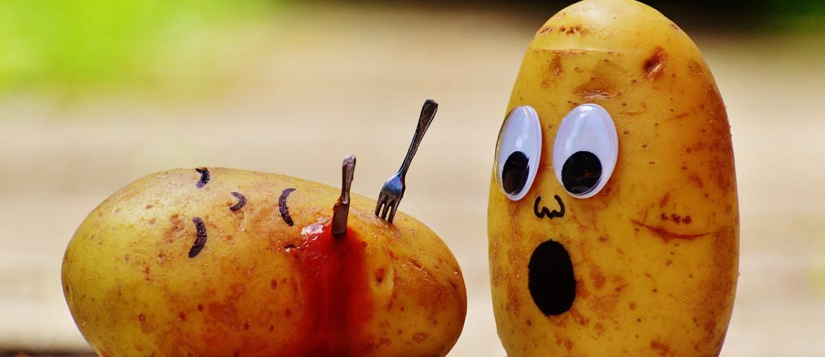potatoes blood