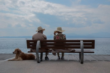 retirement bench