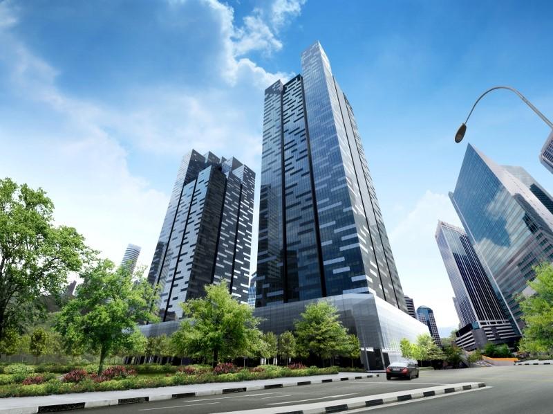 Capitaland Com Trust Asia Square Tower 2