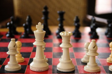 close-up-chess-board