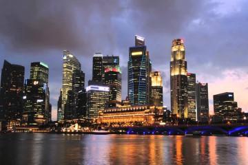 singapore nightsky