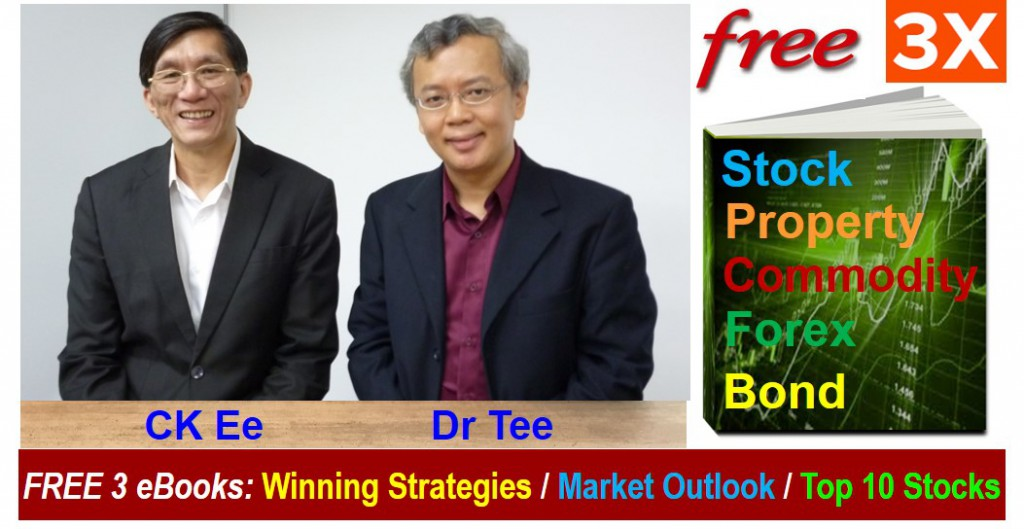 3 Investment ebooks by Dr Tee and CK Ee